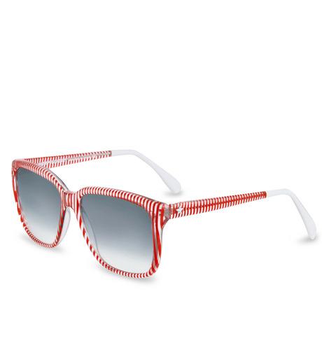 Sheriff & Cherry(シェリフ アンド チェリー)のRed stripe-RED(アイウェア/eyewear)-G12-Stripe-62 詳細画像1