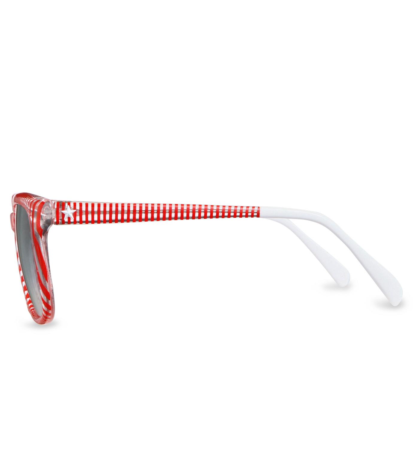 Sheriff & Cherry(シェリフ アンド チェリー)のRed stripe-RED(アイウェア/eyewear)-G12-Stripe-62 拡大詳細画像2