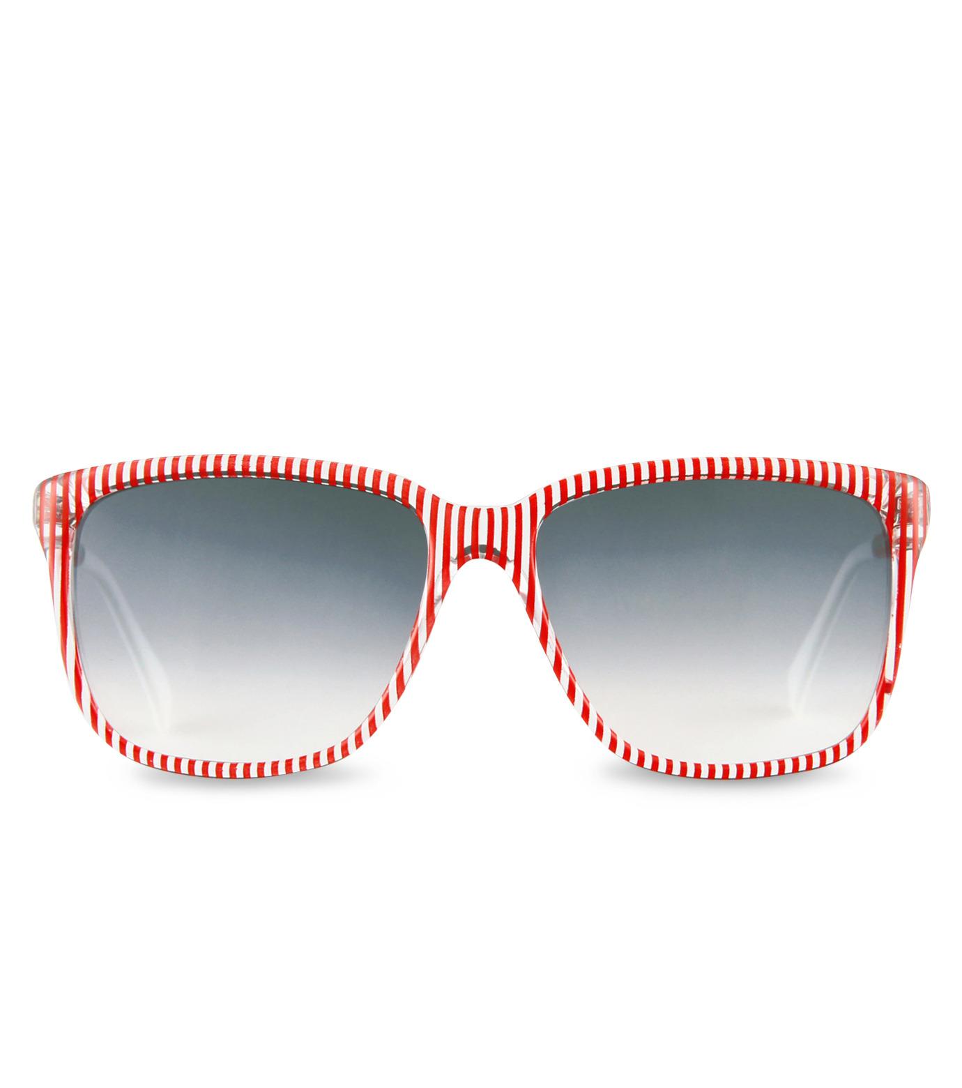 Sheriff & Cherry(シェリフ アンド チェリー)のRed stripe-RED(アイウェア/eyewear)-G12-Stripe-62 拡大詳細画像3
