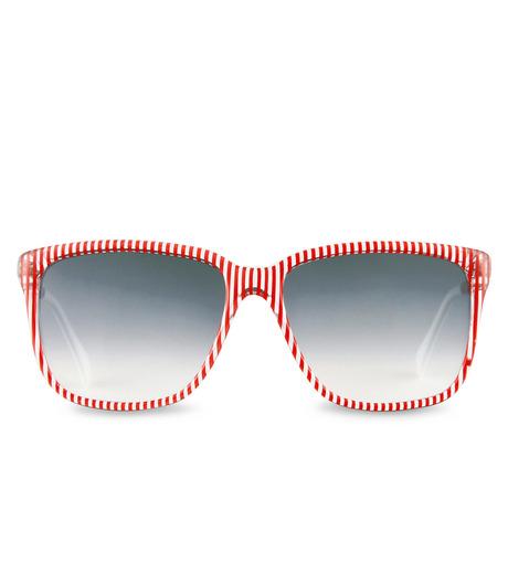 Sheriff & Cherry(シェリフ アンド チェリー)のRed stripe-RED(アイウェア/eyewear)-G12-Stripe-62 詳細画像3