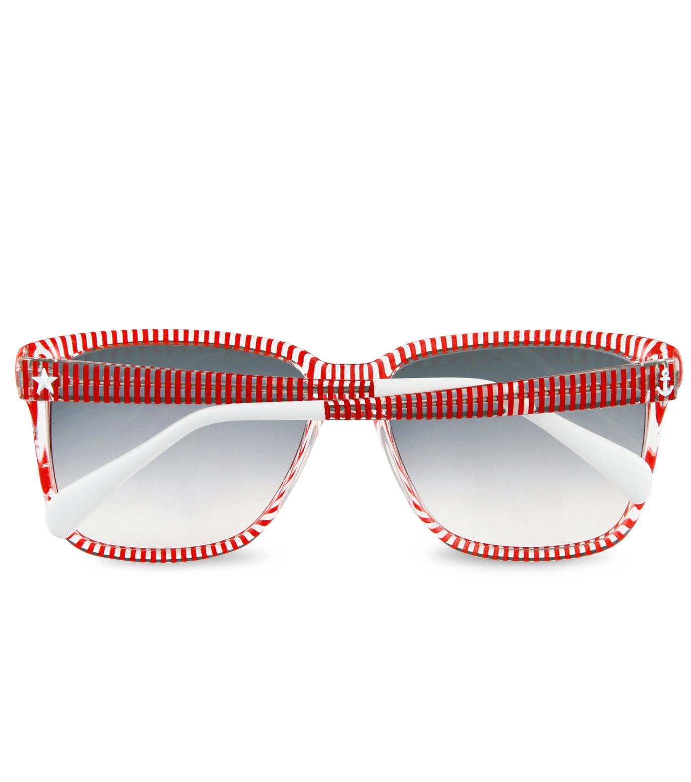 Sheriff & Cherry(シェリフ アンド チェリー)のRed stripe-RED(アイウェア/eyewear)-G12-Stripe-62 拡大詳細画像4