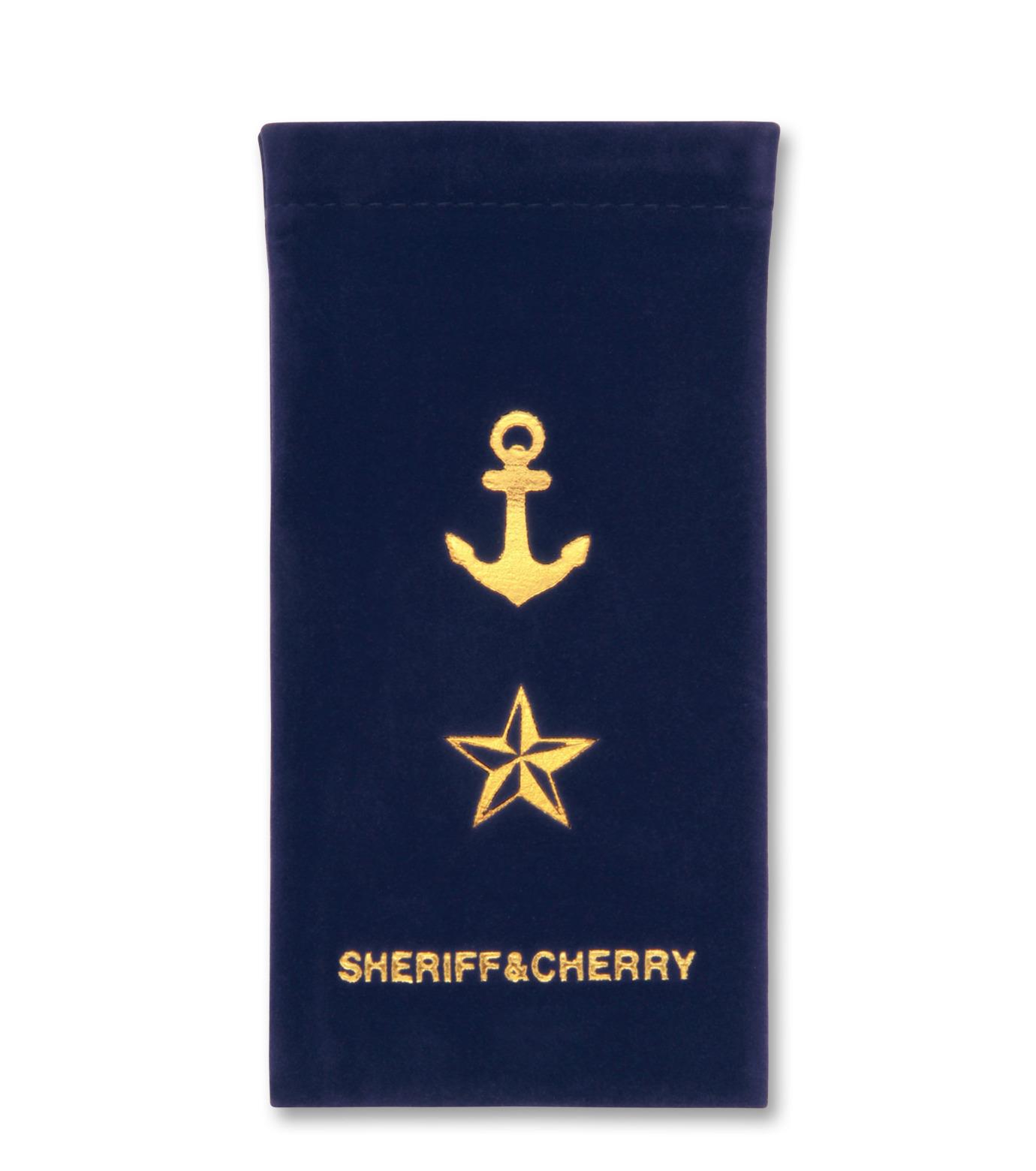 Sheriff & Cherry(シェリフ アンド チェリー)のRed stripe-RED(アイウェア/eyewear)-G12-Stripe-62 拡大詳細画像5