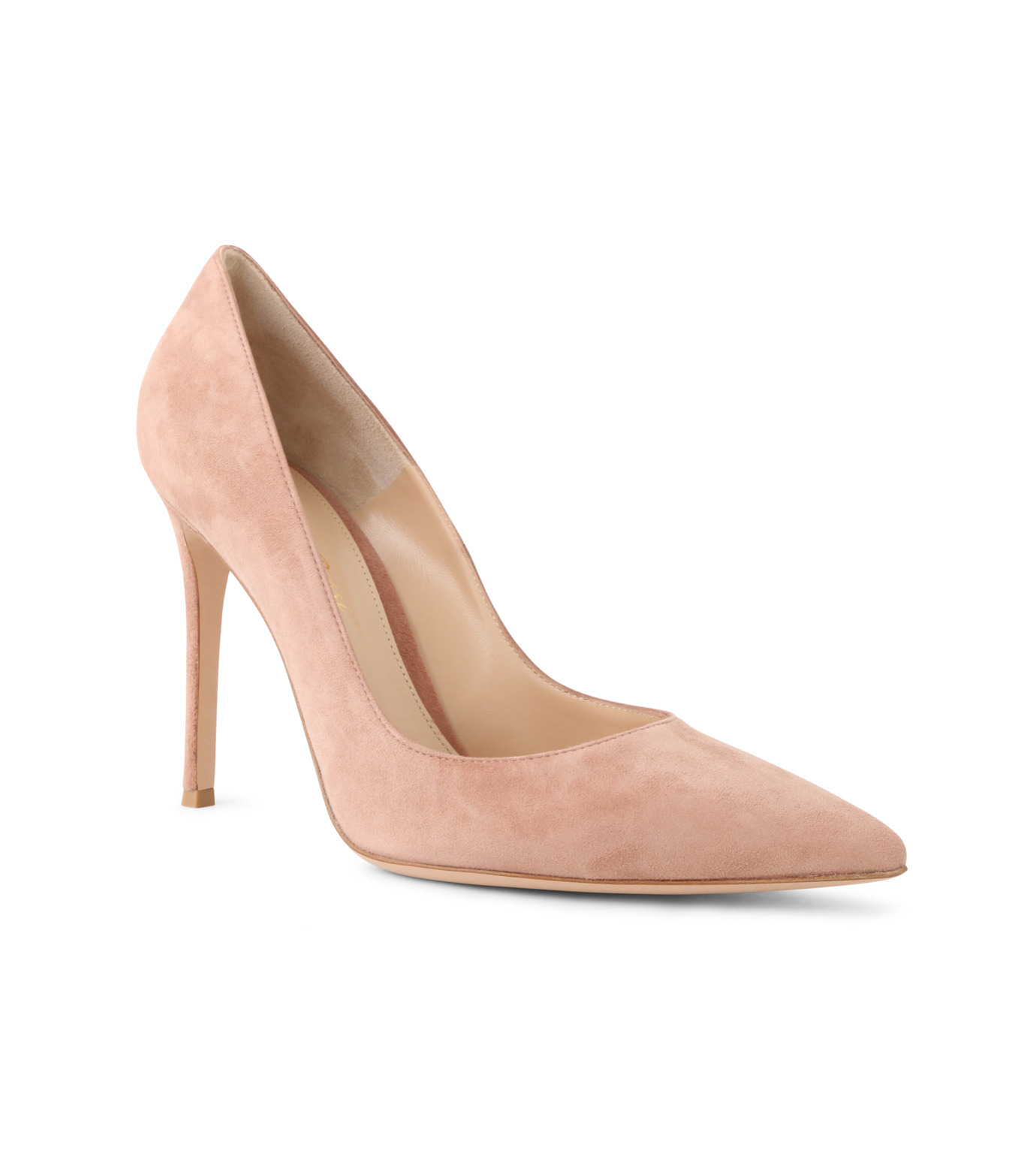 Gianvito Rossi(ジャンヴィト ロッシ)のSuede Pump-LIGHT BEIGE(パンプス/pumps)-G28470-51 拡大詳細画像1