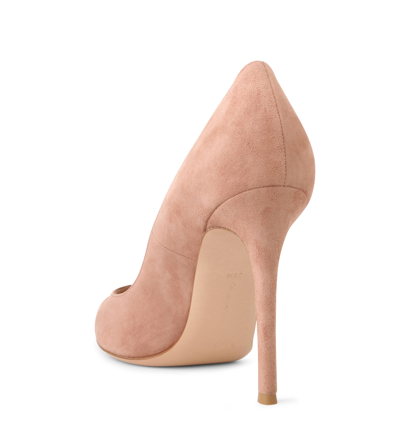 Gianvito Rossi(ジャンヴィト ロッシ)のSuede Pump-LIGHT BEIGE(パンプス/pumps)-G28470-51 拡大詳細画像2