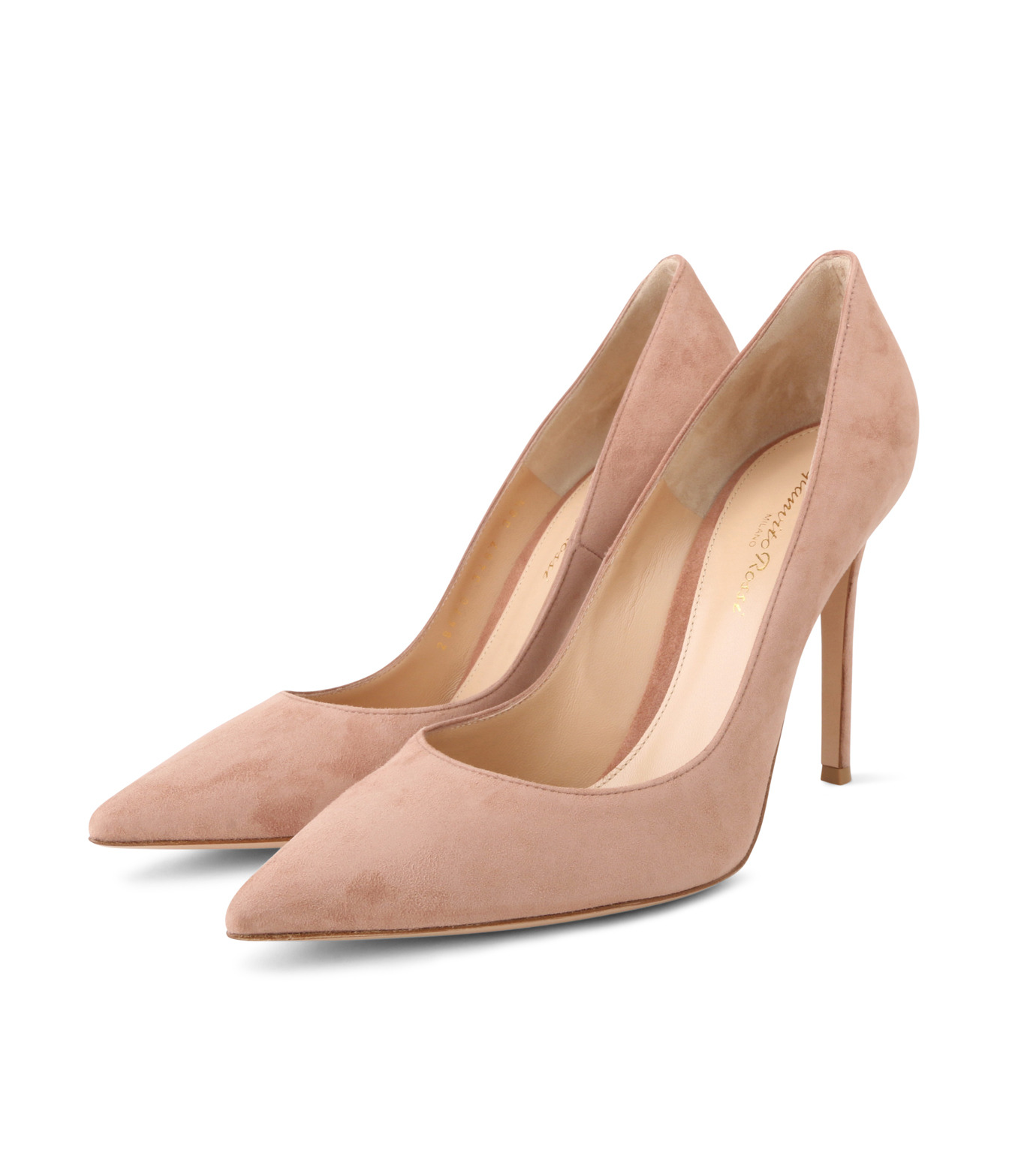 Gianvito Rossi(ジャンヴィト ロッシ)のSuede Pump-LIGHT BEIGE(パンプス/pumps)-G28470-51 拡大詳細画像3
