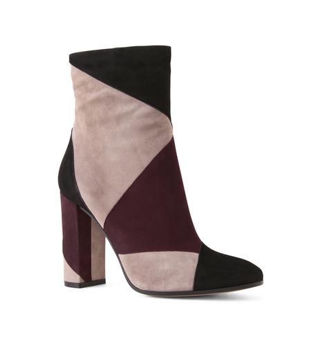 Gianvito Rossi(ジャンヴィト ロッシ)のPatchwork Bootie-BORDEAUX(ブーツ/boots)-G70625-63 詳細画像1