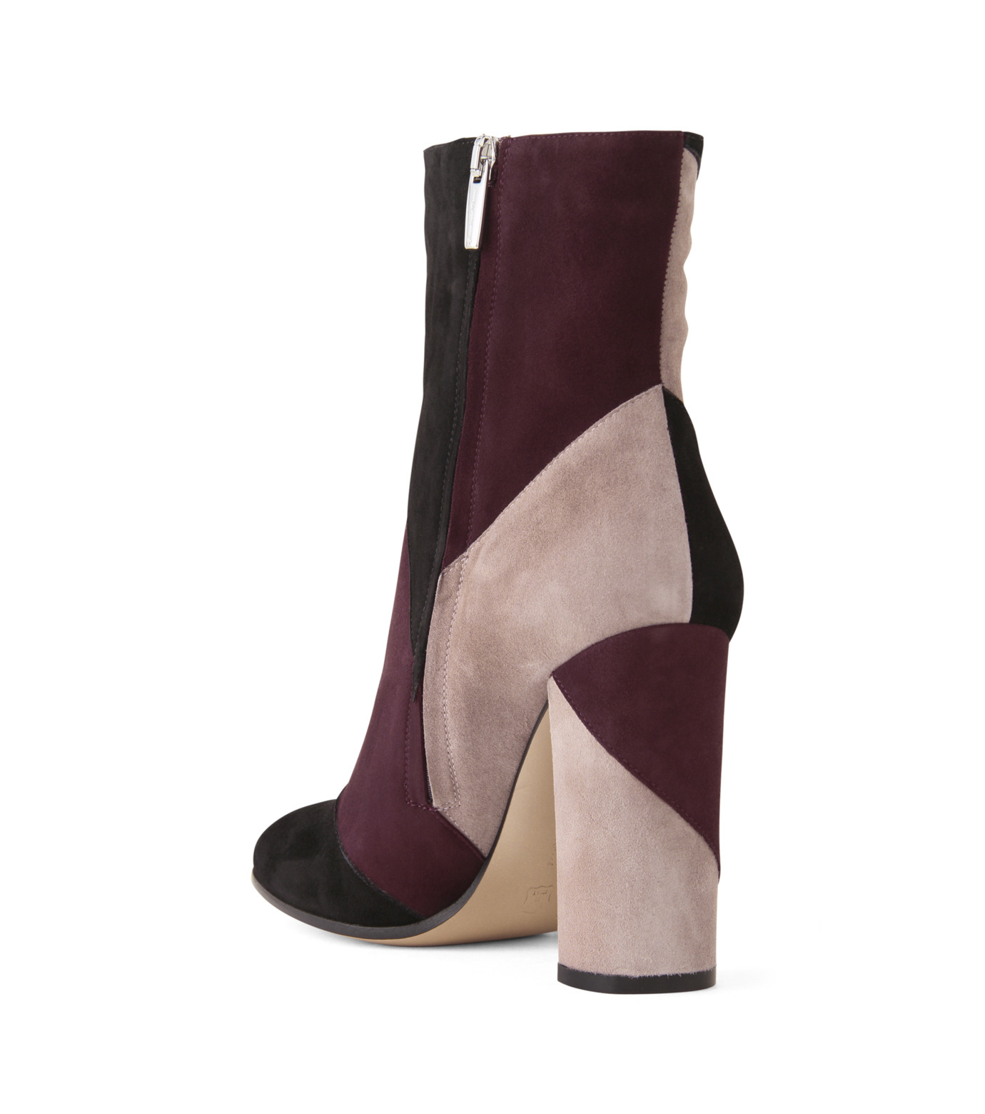 Gianvito Rossi(ジャンヴィト ロッシ)のPatchwork Bootie-BORDEAUX(ブーツ/boots)-G70625-63 拡大詳細画像2