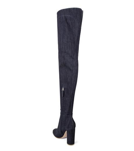 Gianvito Rossi(ジャンヴィト ロッシ)のDenim Over the Knee Boots-INDIGO(ブーツ/boots)-G80806-94 詳細画像2