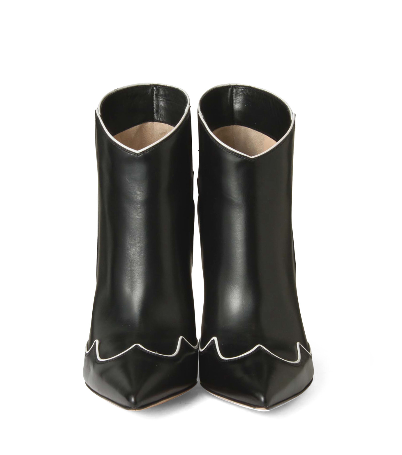 Gianvito Rossi(ジャンヴィト ロッシ)のWestern Stitch Bootie-BLACK(シューズ/shoes)-GQ05936-13 拡大詳細画像4