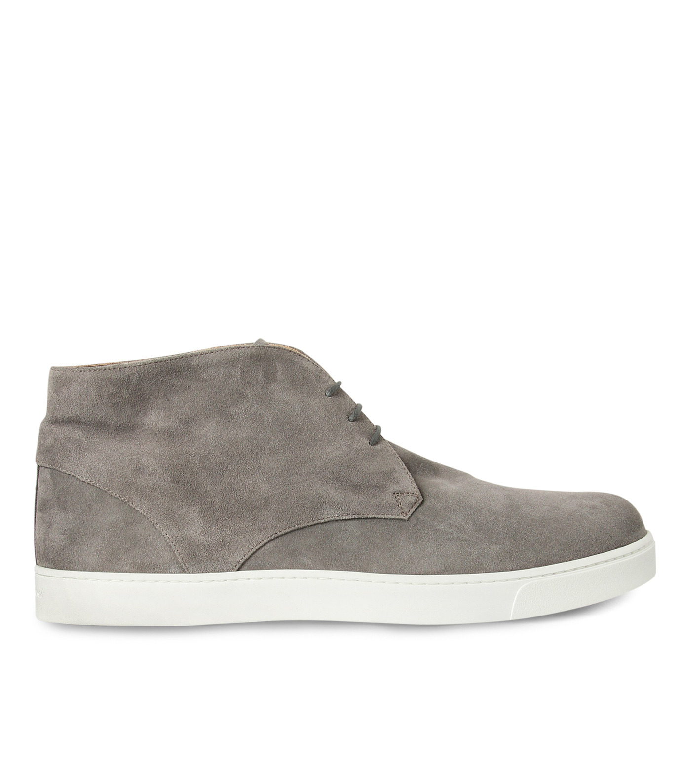 Gianvito Rossi(ジャンヴィト ロッシ)のSuede Lace Up Shoes-GRAY(シューズ/shoes)-GR29420-11 拡大詳細画像1