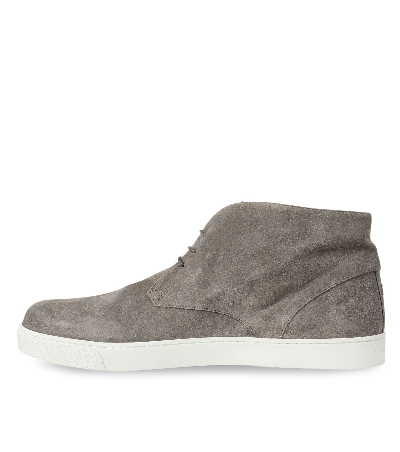 Gianvito Rossi(ジャンヴィト ロッシ)のSuede Lace Up Shoes-GRAY(シューズ/shoes)-GR29420-11 拡大詳細画像2