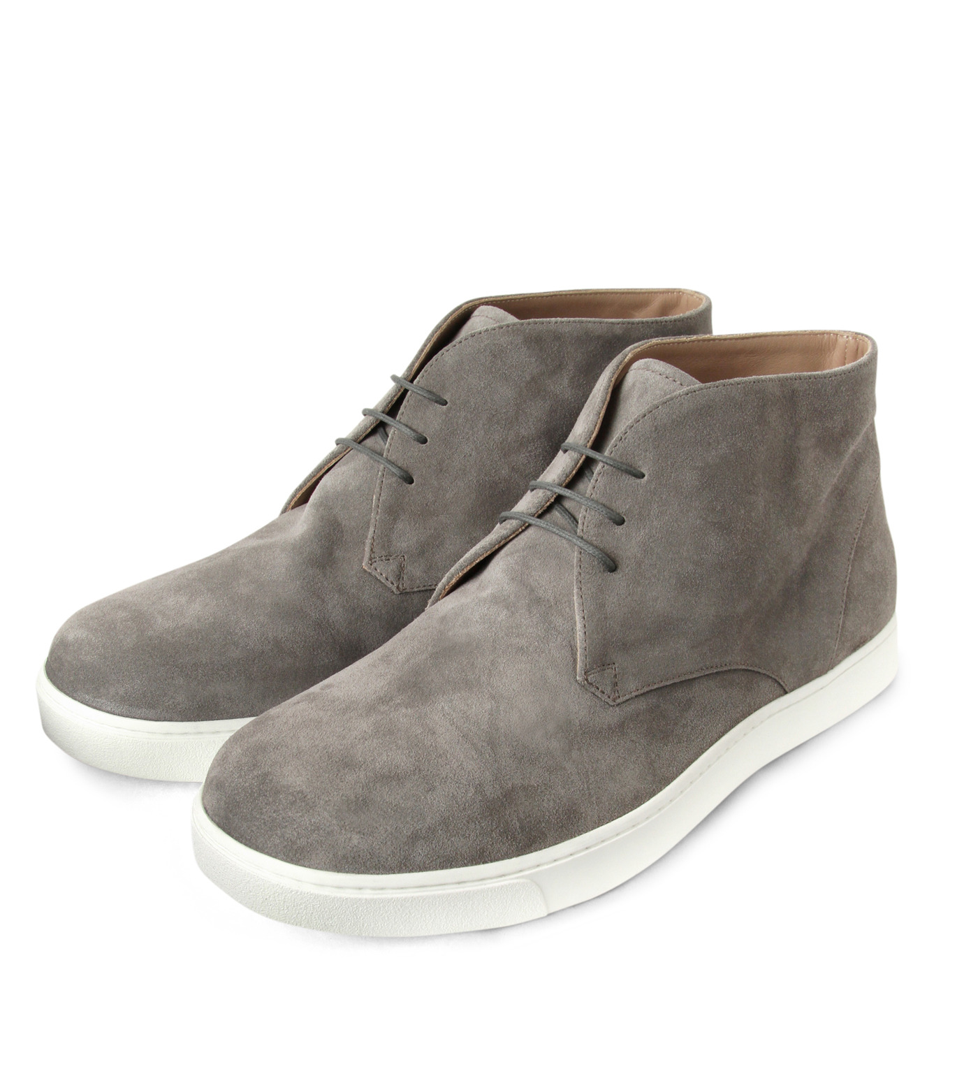 Gianvito Rossi(ジャンヴィト ロッシ)のSuede Lace Up Shoes-GRAY(シューズ/shoes)-GR29420-11 拡大詳細画像4