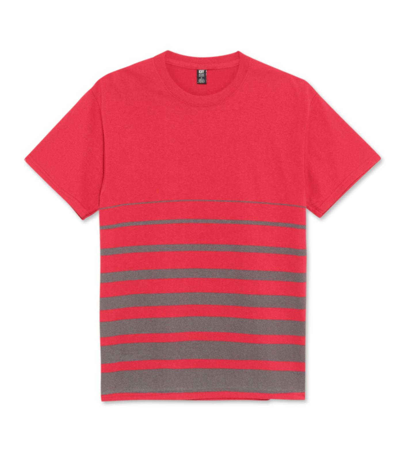 ICNY(アイ・シー・エヌ・ワイ)のGradient T-shirts-RED(T-SHIRTS/T-SHIRTS)-GRDT-62 拡大詳細画像1