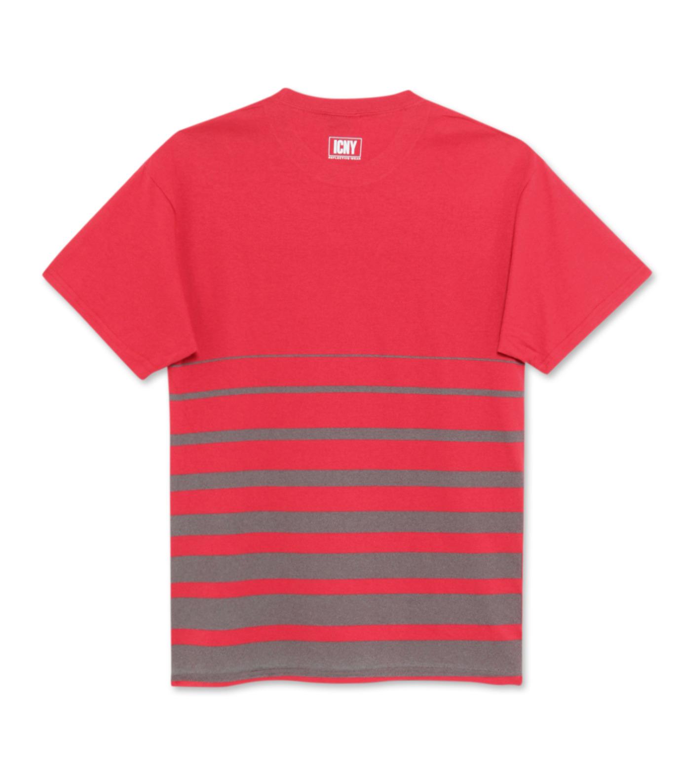 ICNY(アイ・シー・エヌ・ワイ)のGradient T-shirts-RED(T-SHIRTS/T-SHIRTS)-GRDT-62 拡大詳細画像2