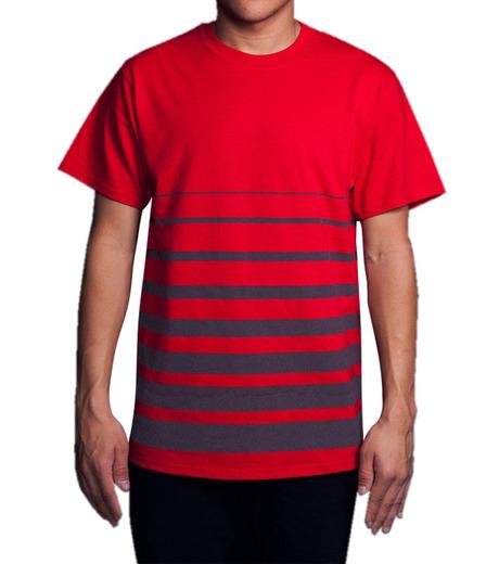 ICNY(アイ・シー・エヌ・ワイ)のGradient T-shirts-RED(T-SHIRTS/T-SHIRTS)-GRDT-62 詳細画像3