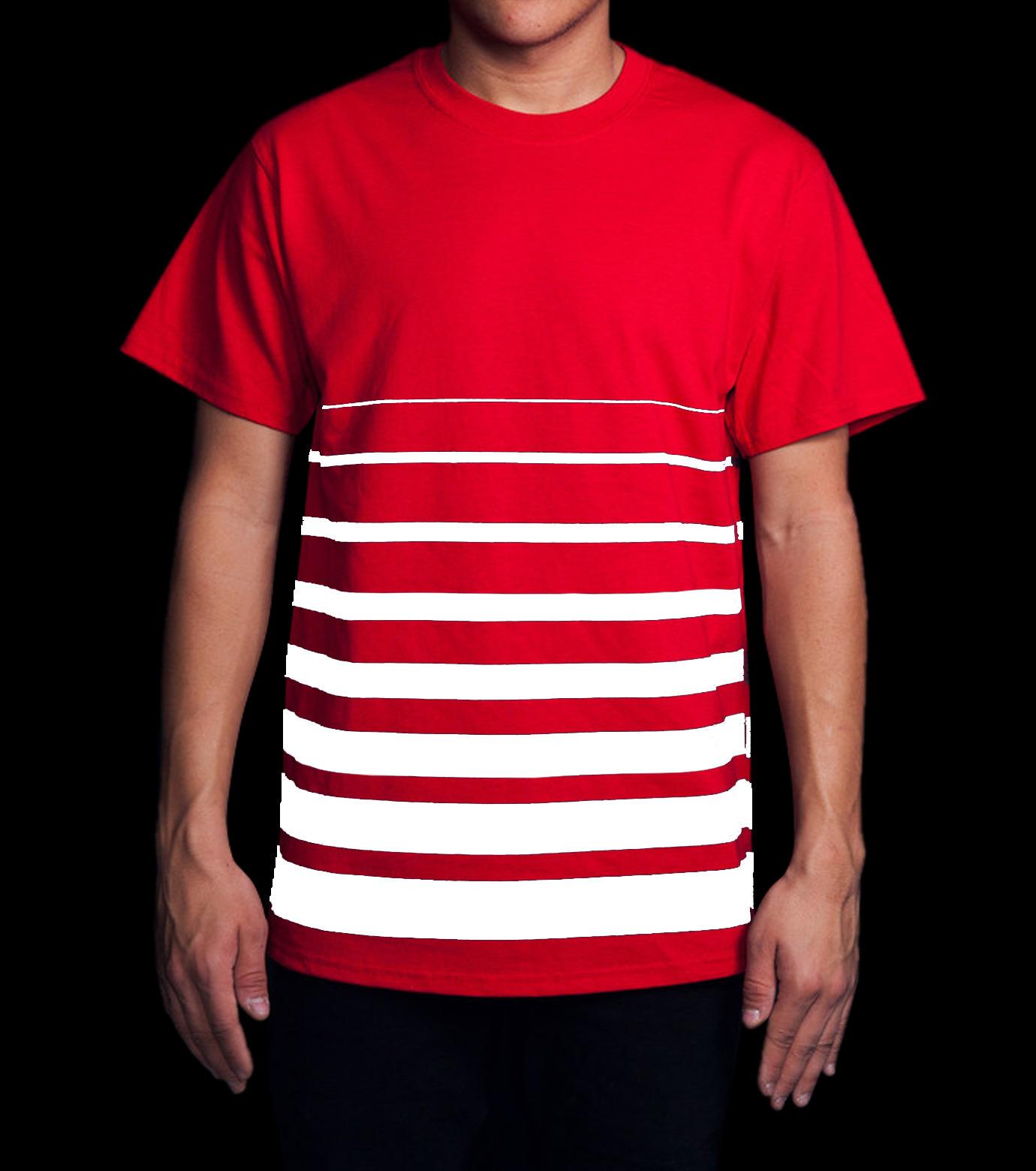 ICNY(アイ・シー・エヌ・ワイ)のGradient T-shirts-RED(T-SHIRTS/T-SHIRTS)-GRDT-62 拡大詳細画像4