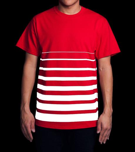 ICNY(アイ・シー・エヌ・ワイ)のGradient T-shirts-RED(T-SHIRTS/T-SHIRTS)-GRDT-62 詳細画像4