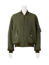 G.V.G.V.(ジーヴィジーヴィ) LACE UP MA-1 BLOUSON