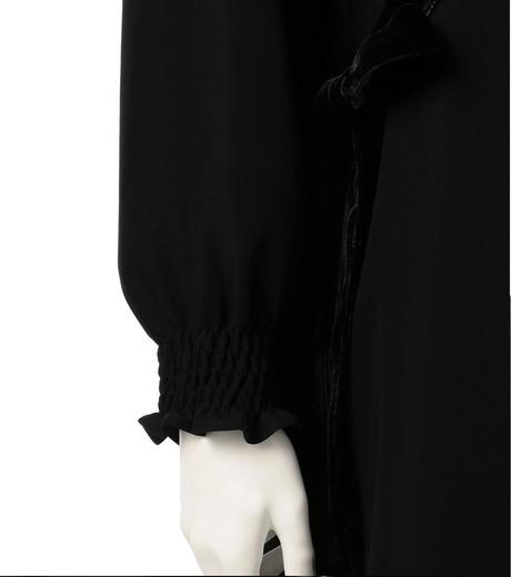 G.V.G.V.(ジーヴィジーヴィ)のVELVET PANEL DRESS-BLACK(ドレス/dress)-GV1641003-13 詳細画像4