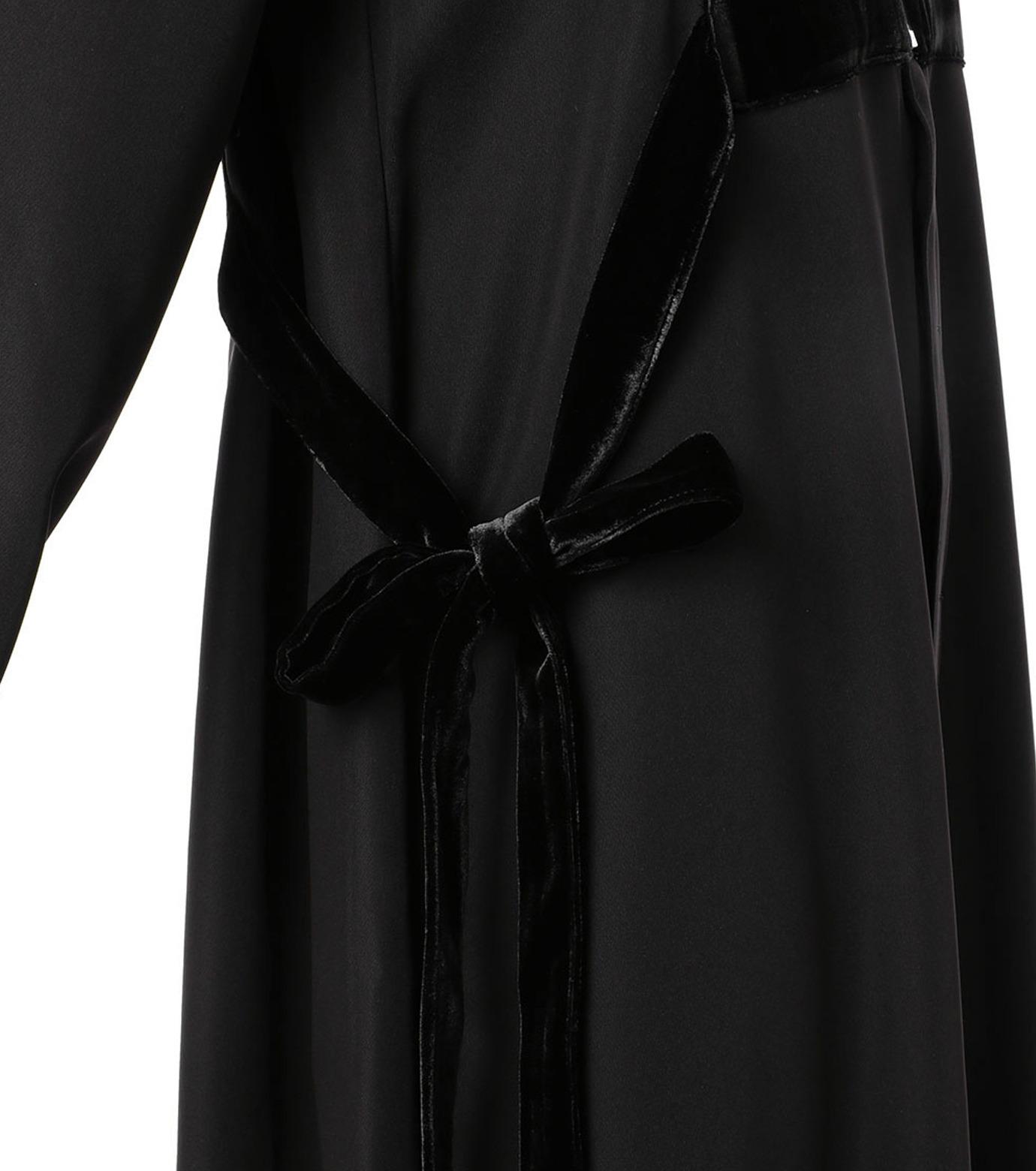 G.V.G.V.(ジーヴィジーヴィ)のVELVET PANEL DRESS-BLACK(ドレス/dress)-GV1641003-13 拡大詳細画像5