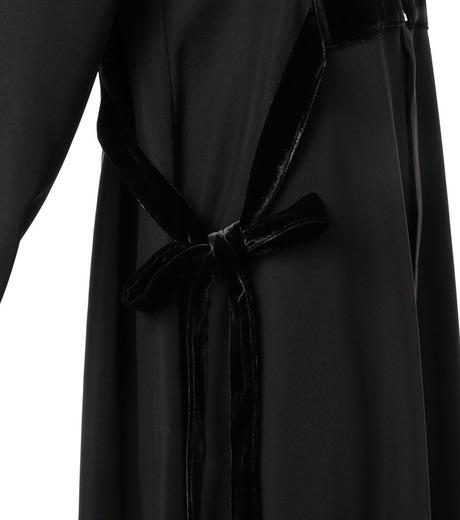 G.V.G.V.(ジーヴィジーヴィ)のVELVET PANEL DRESS-BLACK(ドレス/dress)-GV1641003-13 詳細画像5