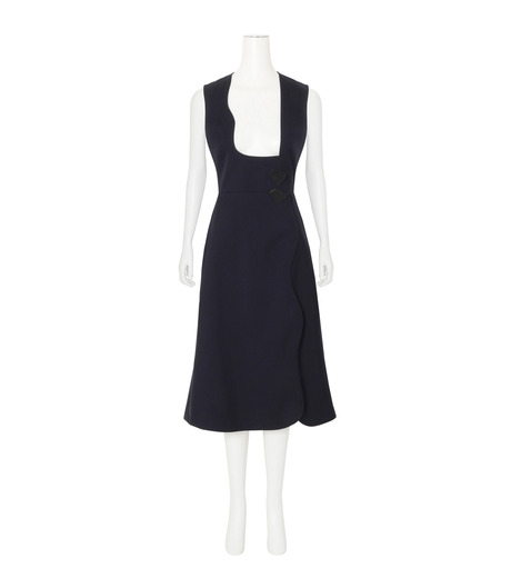 Roksanda(ロクサンダ)のHebring Jumperskirt Dress-NAVY(ワンピース/one piece)-H1010-2-93 詳細画像1