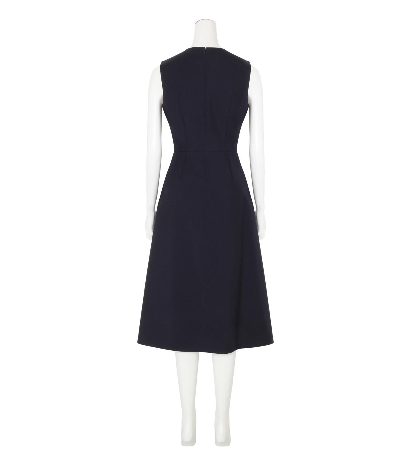 Roksanda(ロクサンダ)のHebring Jumperskirt Dress-NAVY(ワンピース/one piece)-H1010-2-93 拡大詳細画像2