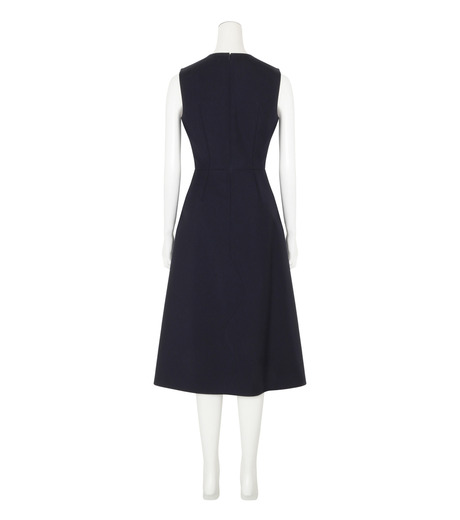 Roksanda(ロクサンダ)のHebring Jumperskirt Dress-NAVY(ワンピース/one piece)-H1010-2-93 詳細画像2