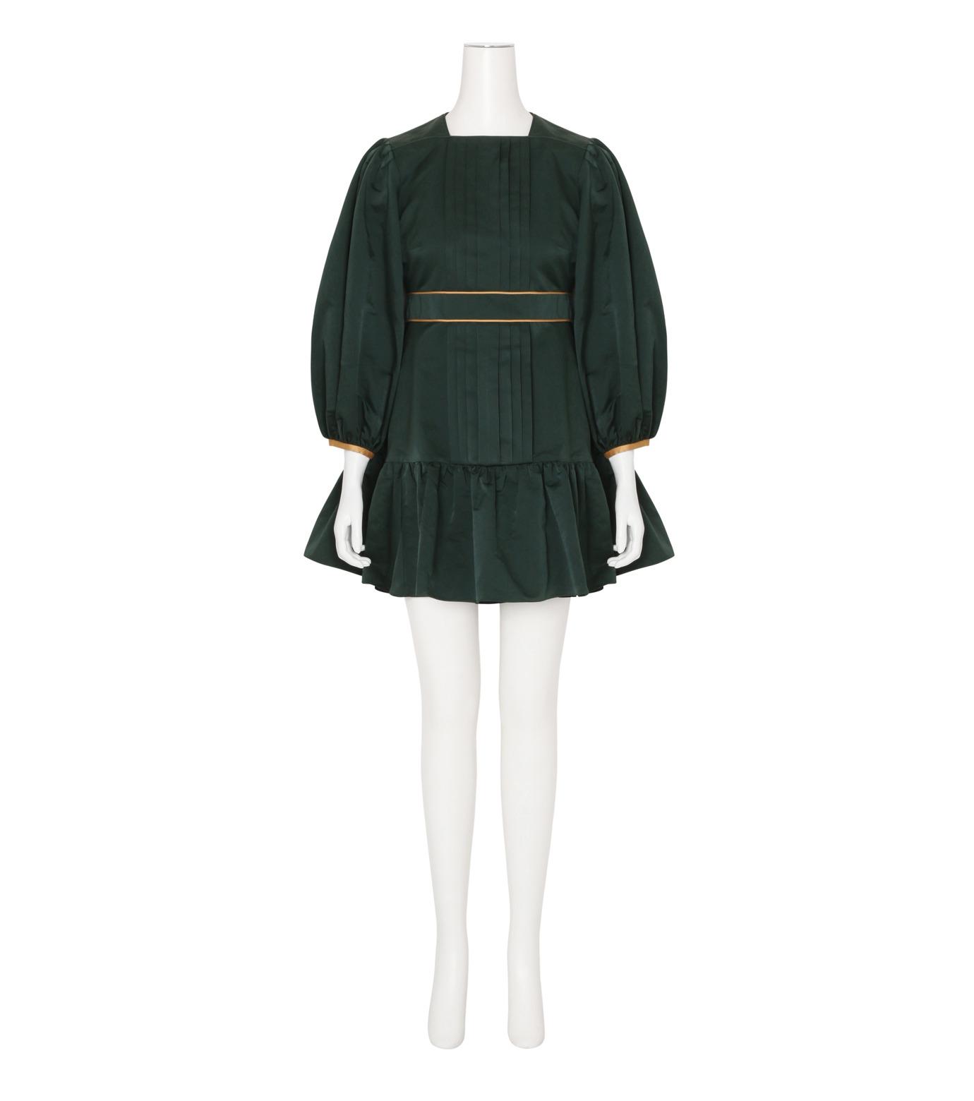 Roksanda(ロクサンダ)のDelia Taffeta Dress-DARK GREEN(ワンピース/one piece)-H1034-2-23 拡大詳細画像1