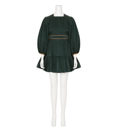 Roksanda(ロクサンダ)のDelia Taffeta Dress-DARK GREEN(ワンピース/one piece)-H1034-2-23 詳細画像1