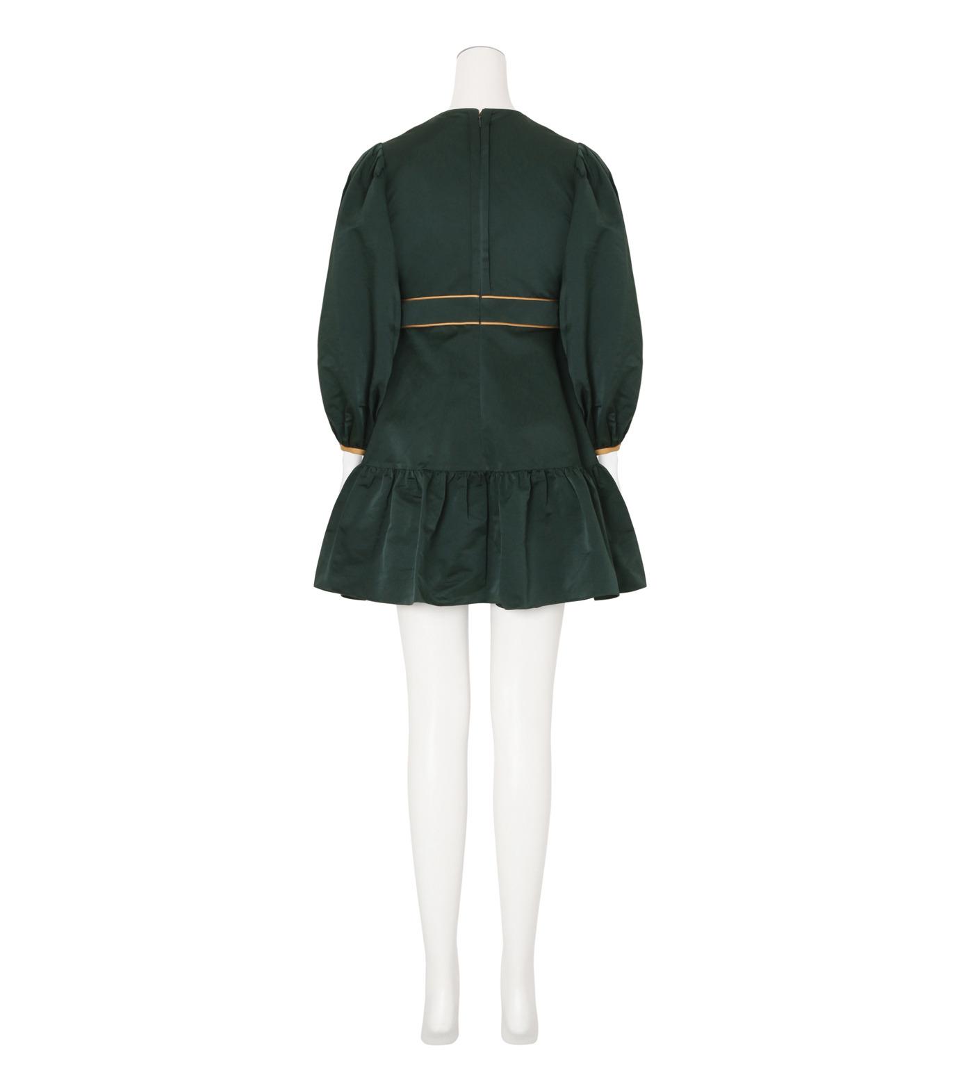 Roksanda(ロクサンダ)のDelia Taffeta Dress-DARK GREEN(ワンピース/one piece)-H1034-2-23 拡大詳細画像2