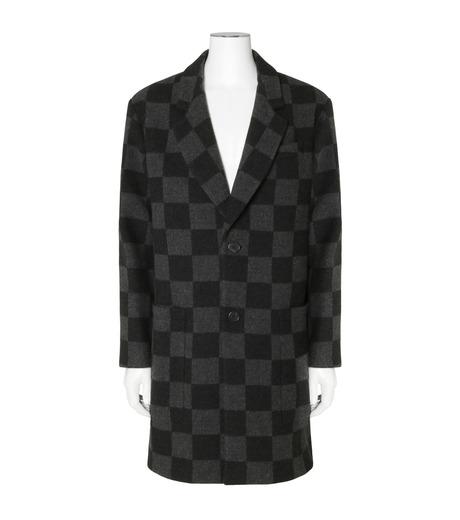 Ami(アミ)のHoundtooth Coat-GRAY(コート/coat)-H16M09-20-11 詳細画像1
