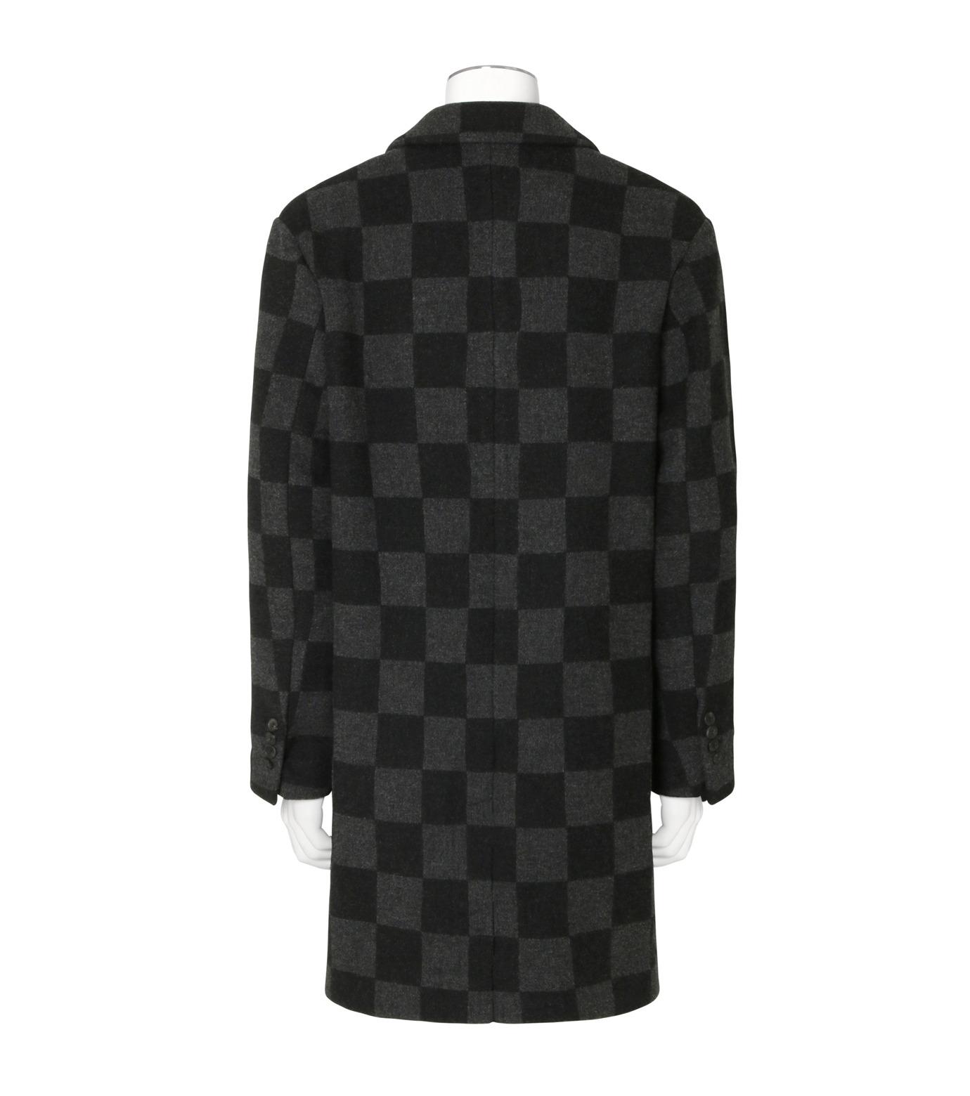Ami(アミ)のHoundtooth Coat-GRAY(コート/coat)-H16M09-20-11 拡大詳細画像2