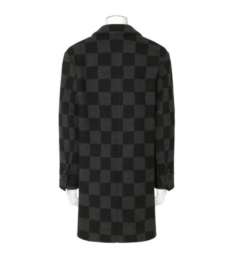 Ami(アミ)のHoundtooth Coat-GRAY(コート/coat)-H16M09-20-11 詳細画像2