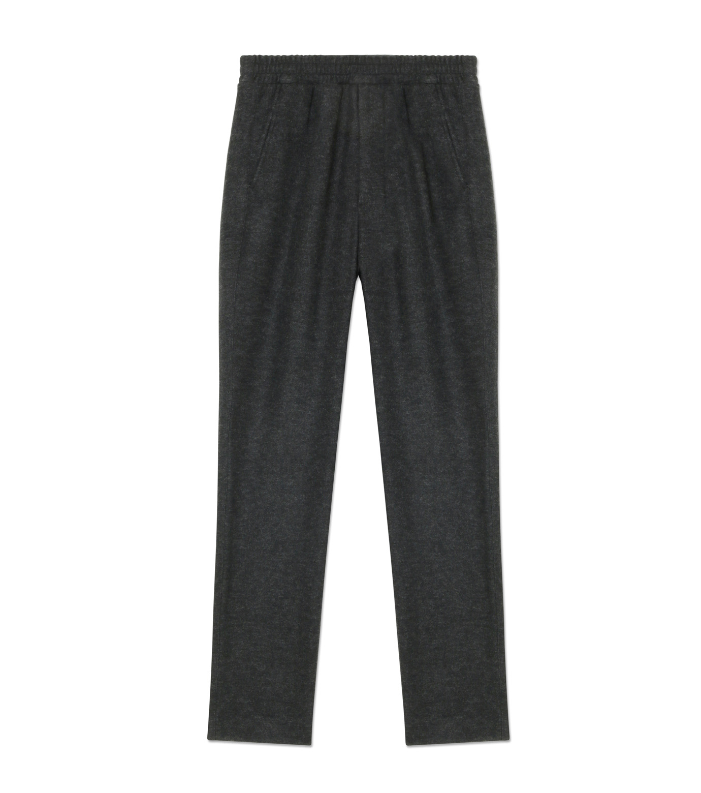 Ami(アミ)のCarrot Fit Trousers-GRAY-H16T25-38-11 拡大詳細画像1