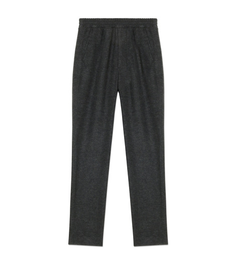 Ami(アミ)のCarrot Fit Trousers-GRAY-H16T25-38-11 詳細画像1