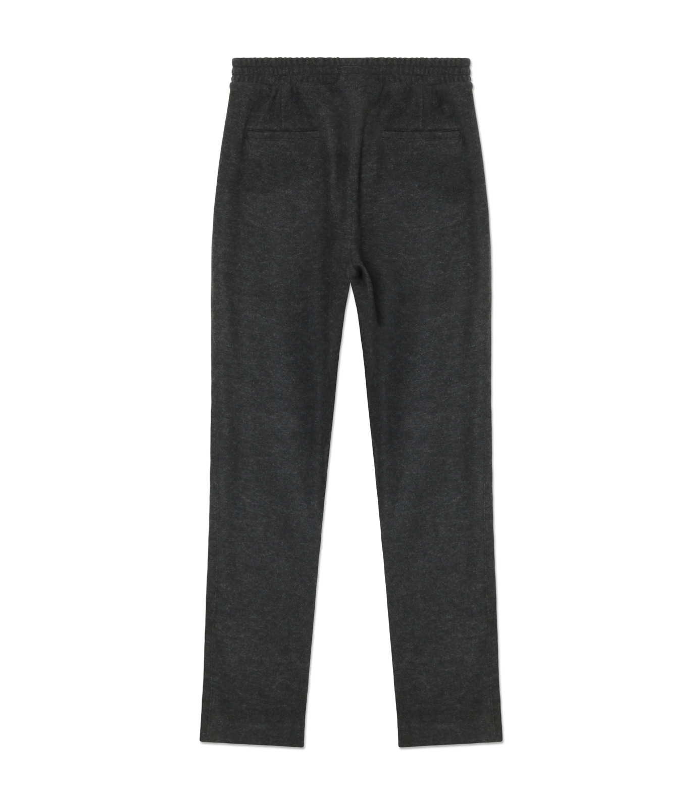 Ami(アミ)のCarrot Fit Trousers-GRAY-H16T25-38-11 拡大詳細画像2