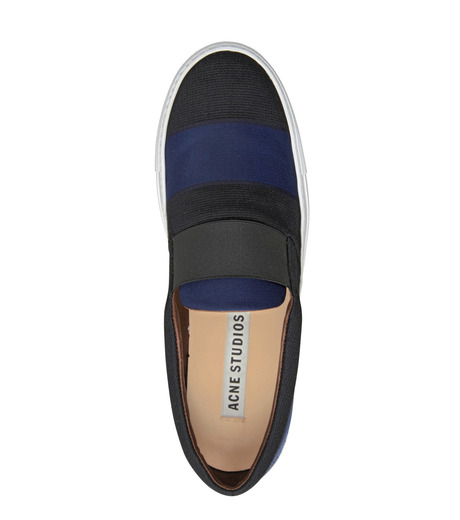ACNE STUDIOS(アクネ)のSlip on-BLACK-HANS-COTTON-13 詳細画像5