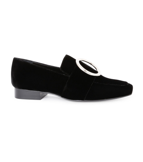 DORATEYMUR(ドラティムール)のRing Flat Shoes-BLACK(フラットシューズ/Flat shoes)-HARPUT-L-13 詳細画像1