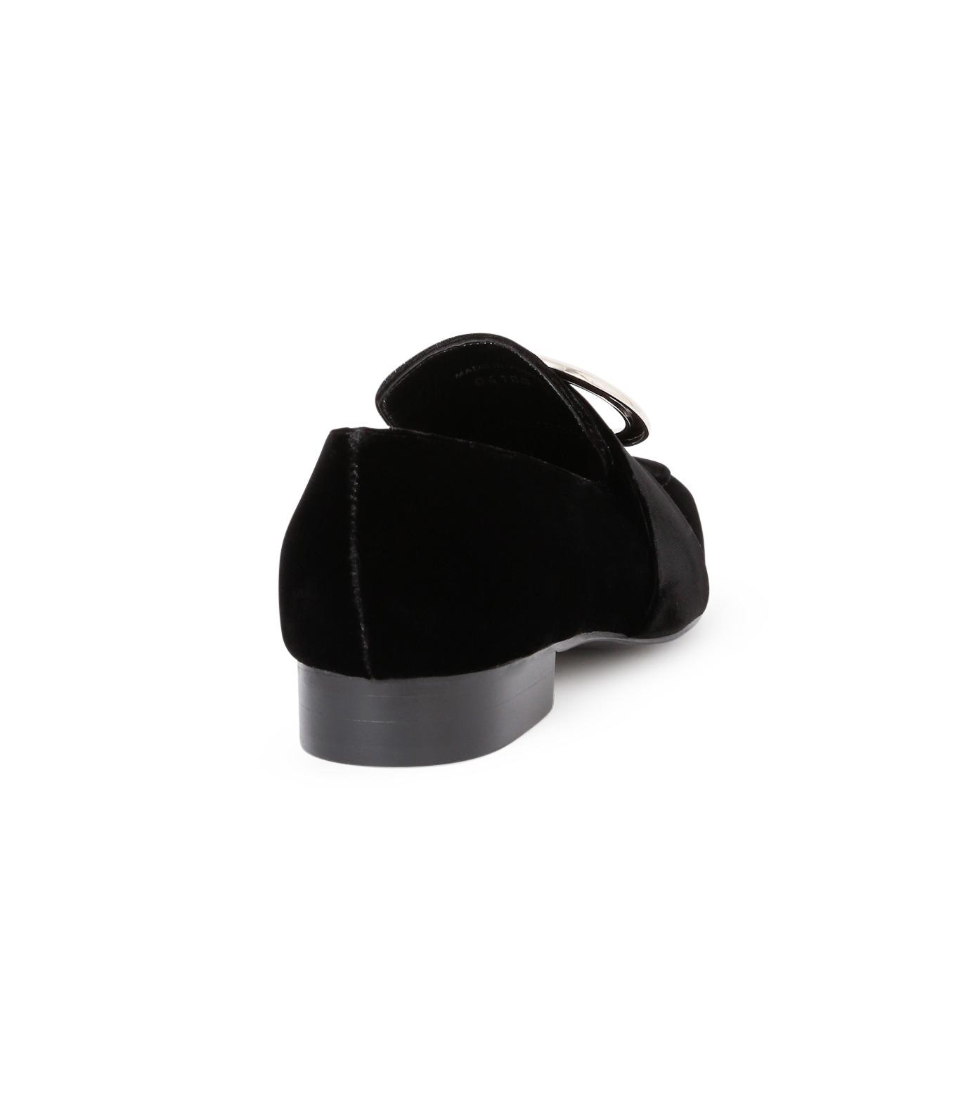DORATEYMUR(ドラティムール)のRing Flat Shoes-BLACK(フラットシューズ/Flat shoes)-HARPUT-L-13 拡大詳細画像3