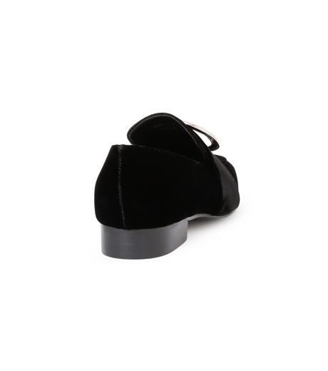DORATEYMUR(ドラティムール)のRing Flat Shoes-BLACK(フラットシューズ/Flat shoes)-HARPUT-L-13 詳細画像3