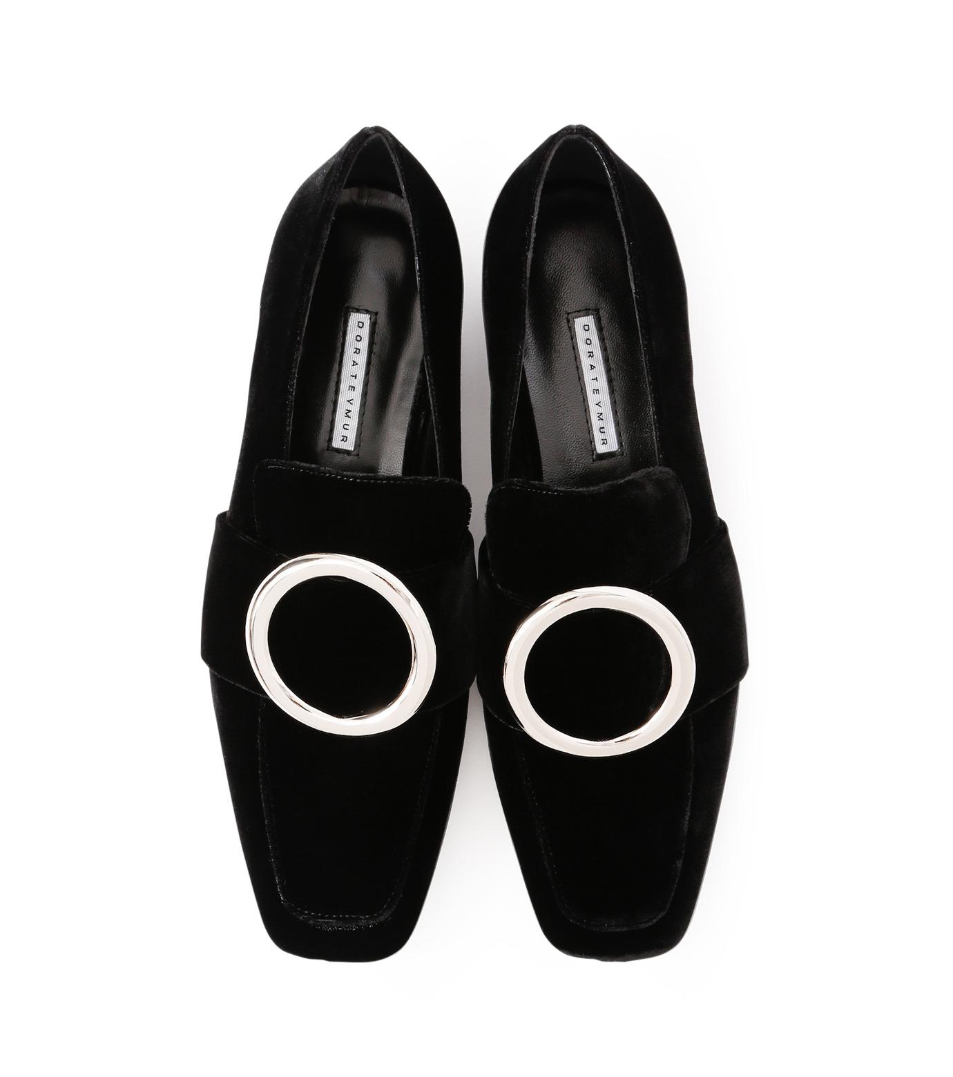 DORATEYMUR(ドラティムール)のRing Flat Shoes-BLACK(フラットシューズ/Flat shoes)-HARPUT-L-13 拡大詳細画像4