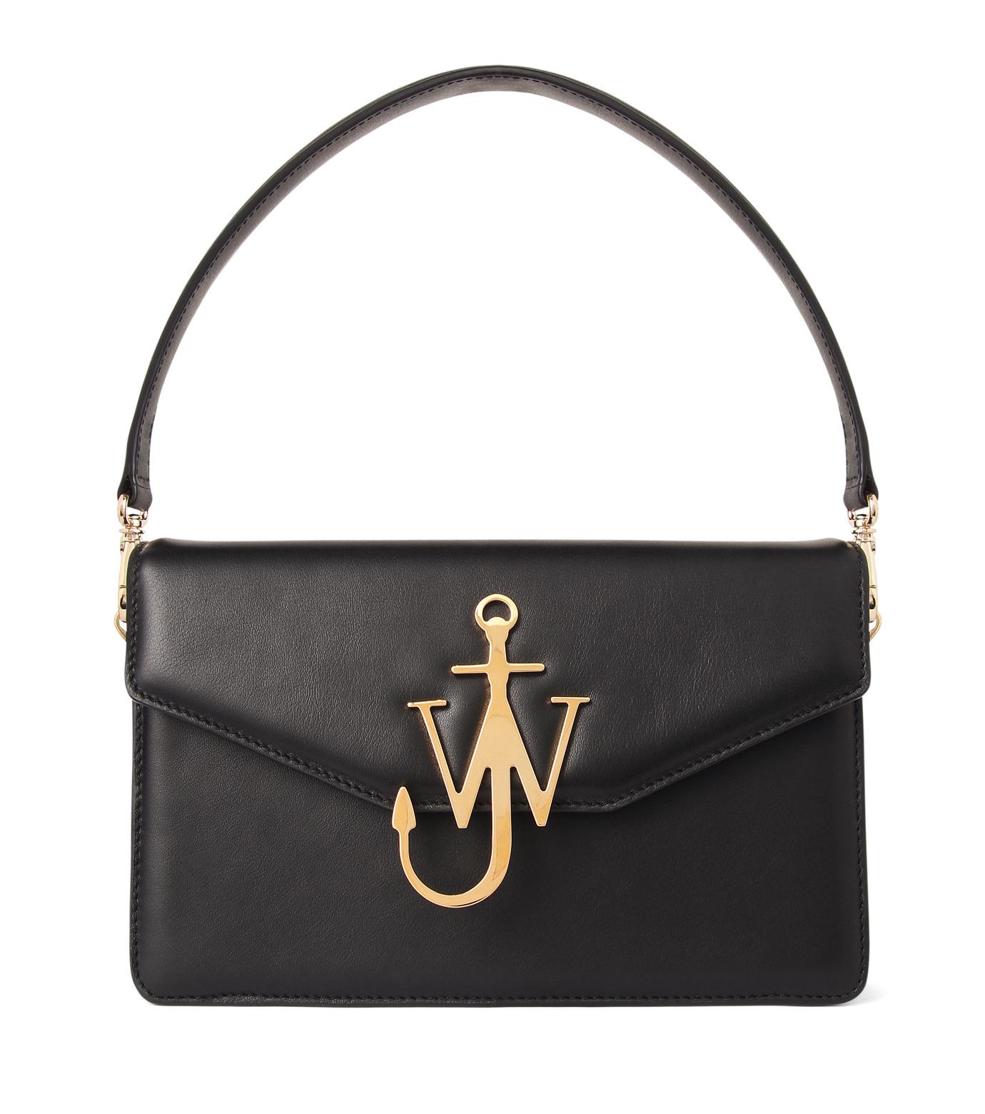 J.W.Anderson(ジェイダブリュー アンダーソン)のLogo Purse-BLACK(ハンドバッグ/hand bag)-HB03615-13 拡大詳細画像1