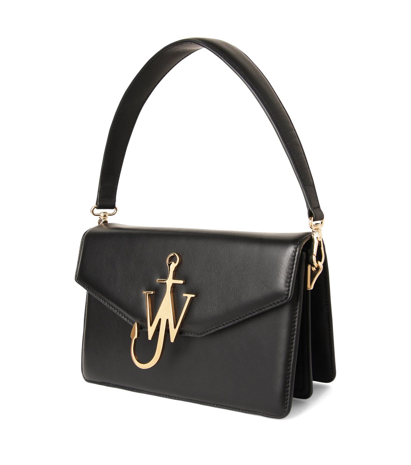 J.W.Anderson(ジェイダブリュー アンダーソン)のLogo Purse-BLACK(ハンドバッグ/hand bag)-HB03615-13 拡大詳細画像2