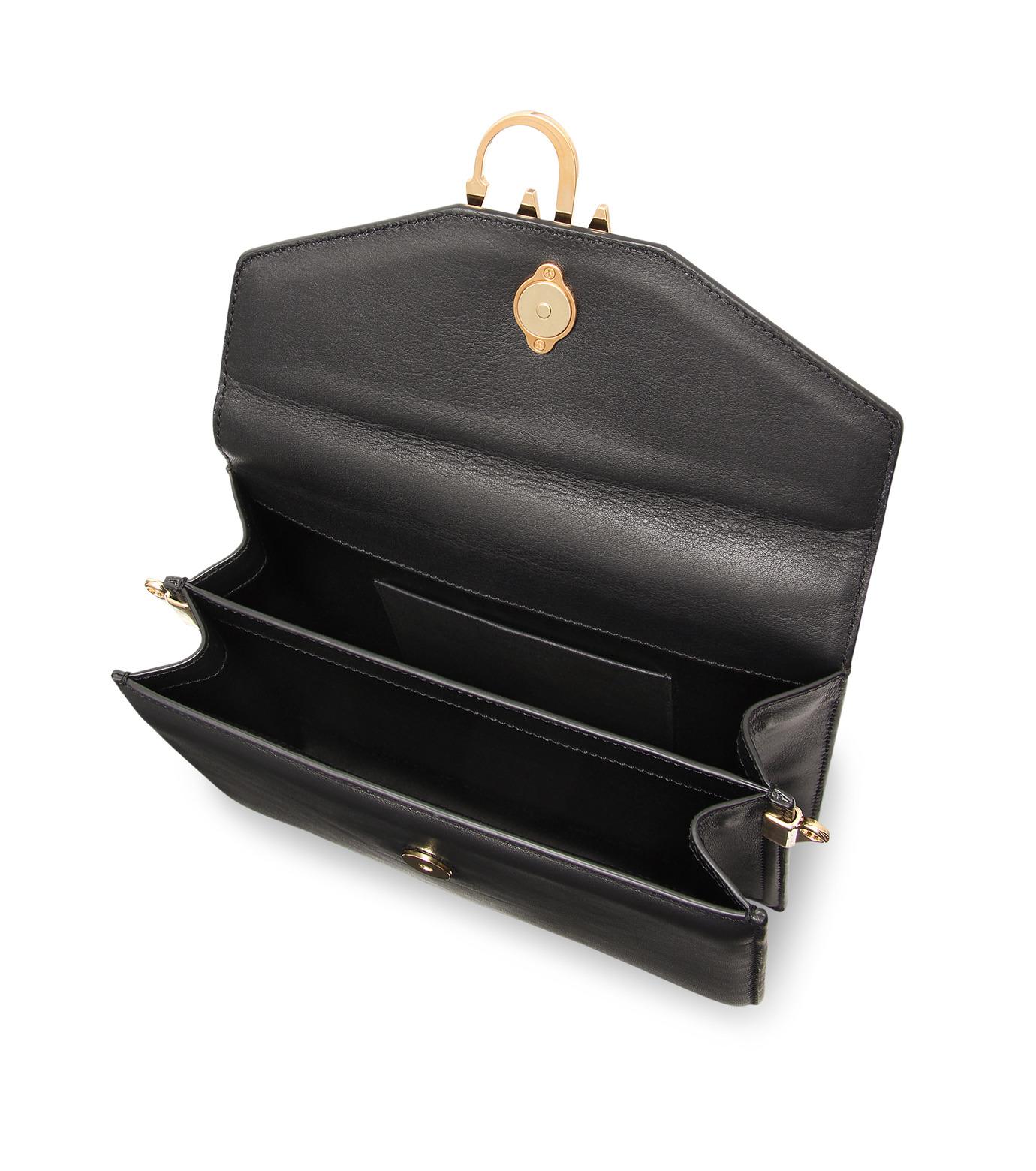 J.W.Anderson(ジェイダブリュー アンダーソン)のLogo Purse-BLACK(ハンドバッグ/hand bag)-HB03615-13 拡大詳細画像4