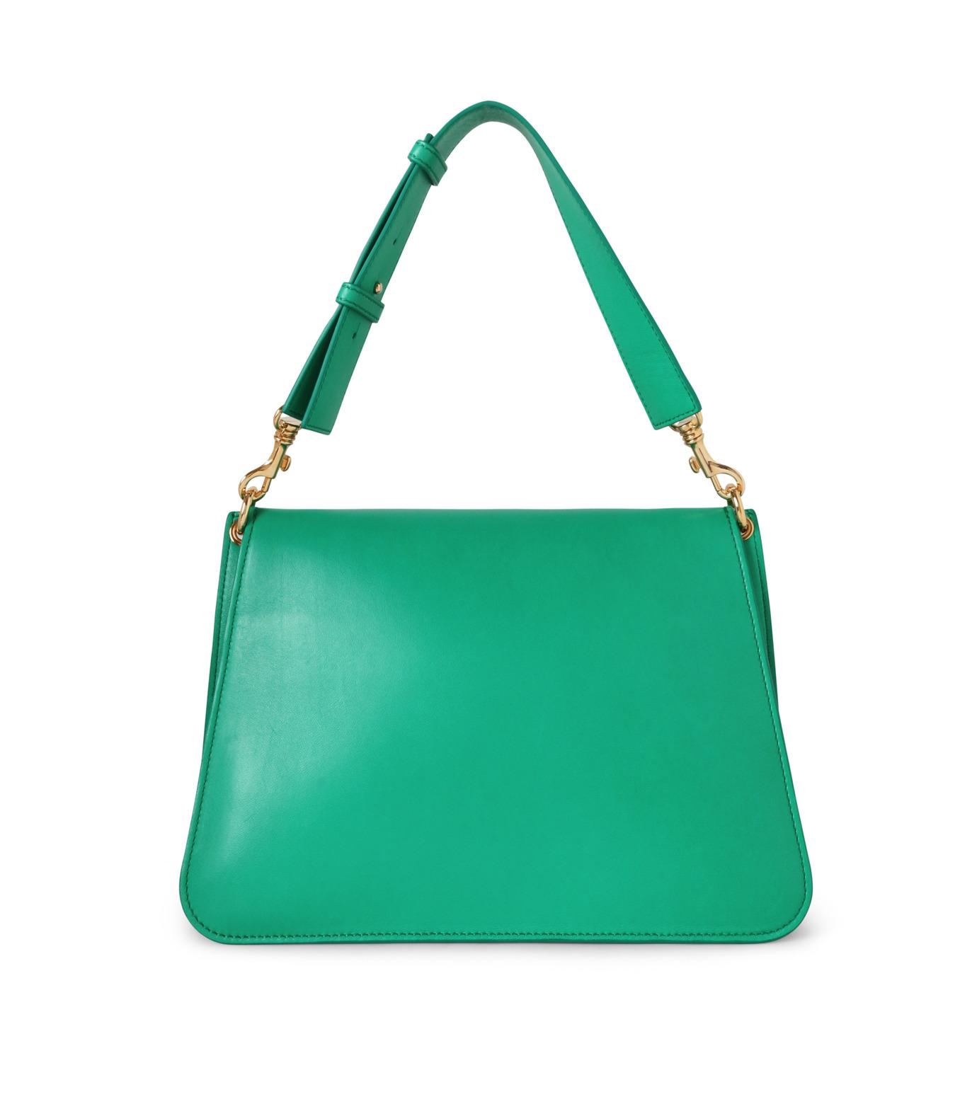 J.W.Anderson(ジェイダブリュー アンダーソン)のMedium Piearc Bag w/Studs-GREEN(ショルダーバッグ/shoulder bag)-HB10-22 拡大詳細画像3