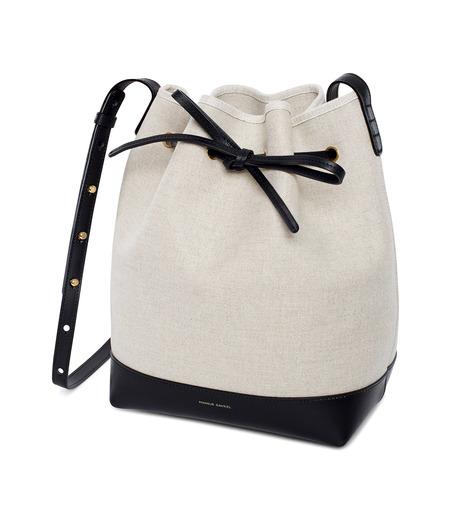 Mansur Gavriel(マンサーガブリエル)のCanvas Bucket Bag-WHITE(バッグ/bag)-HBB003CN-5 詳細画像2