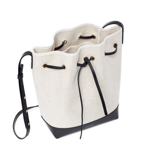 Mansur Gavriel(マンサーガブリエル)のCanvas Bucket Bag-WHITE(バッグ/bag)-HBB003CN-5 詳細画像3