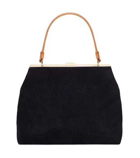 Mansur Gavriel(マンサーガブリエル)のsuede elegant bag-BLACK(ハンドバッグ/hand bag)-HEB024SU-13 詳細画像1