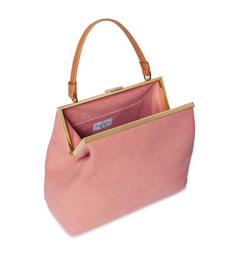 Mansur Gavriel(マンサーガブリエル)のsuede elegant bag-LIGHT PINK(ハンドバッグ/hand bag)-HEB024SU-71 詳細画像3